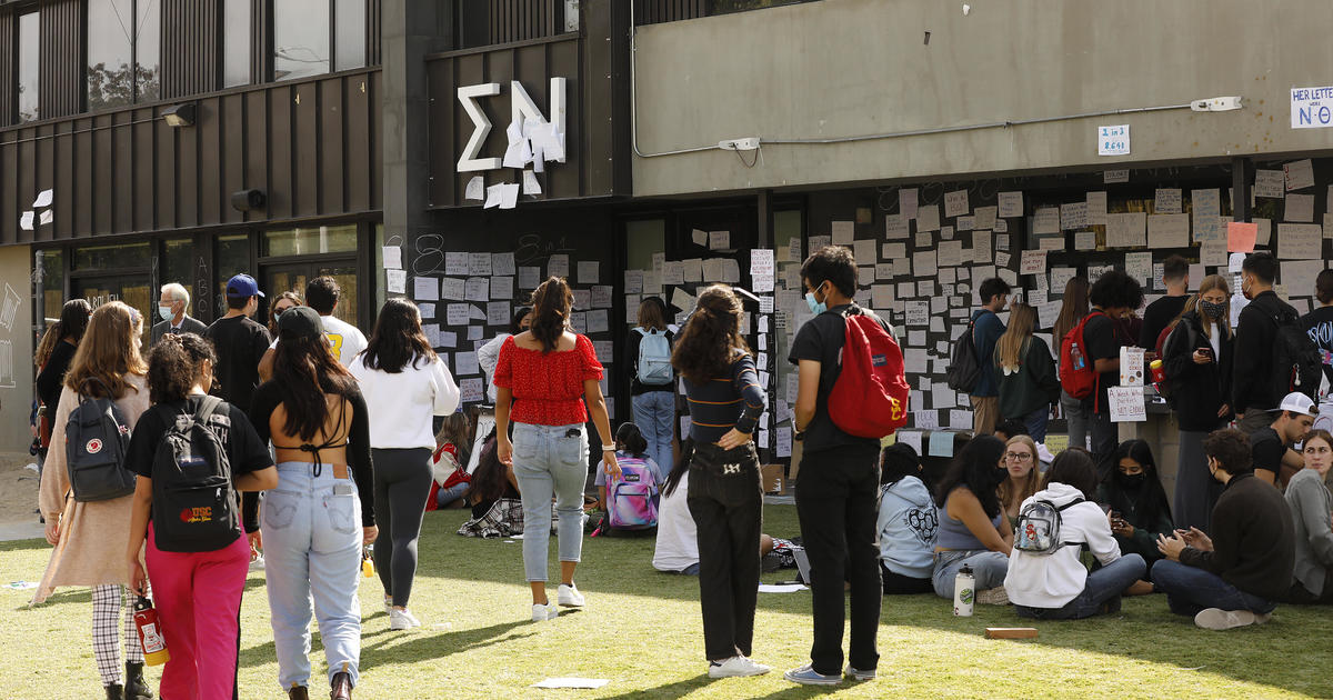 """Sigma Nu fraternity member suspended at USC as students protest reports of """"possible drug-facilitated sexual assaults"""""""