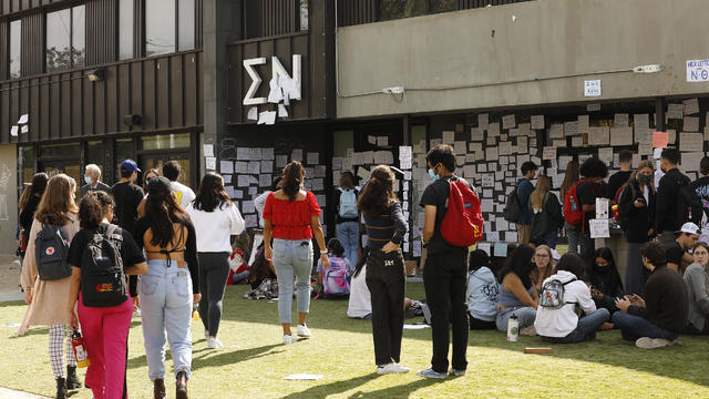USC officials have placed the Sigma Nu fraternity chapter on interim suspension following allegations that women were drugged and sexually assaulted at the fraternity house.