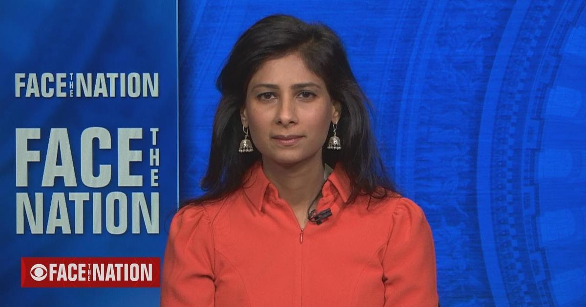 """Transcript: Gita Gopinath on """"Face the Nation,"""" October 24, 2021"""