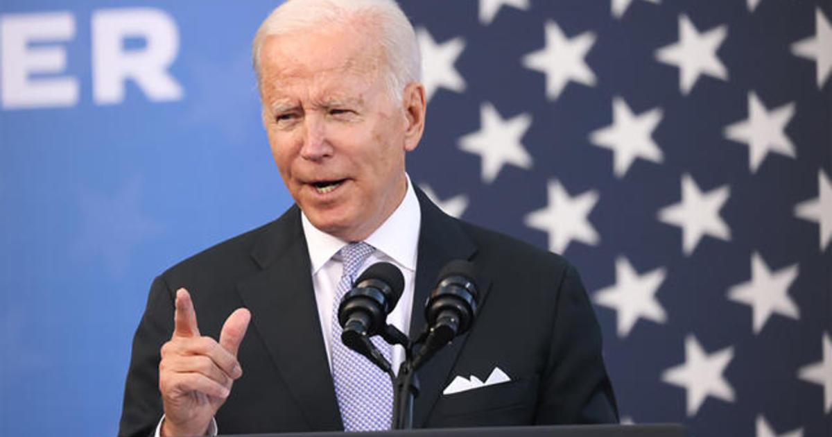 Biden continues to push Democratic lawmakers to come together on his legislative agenda