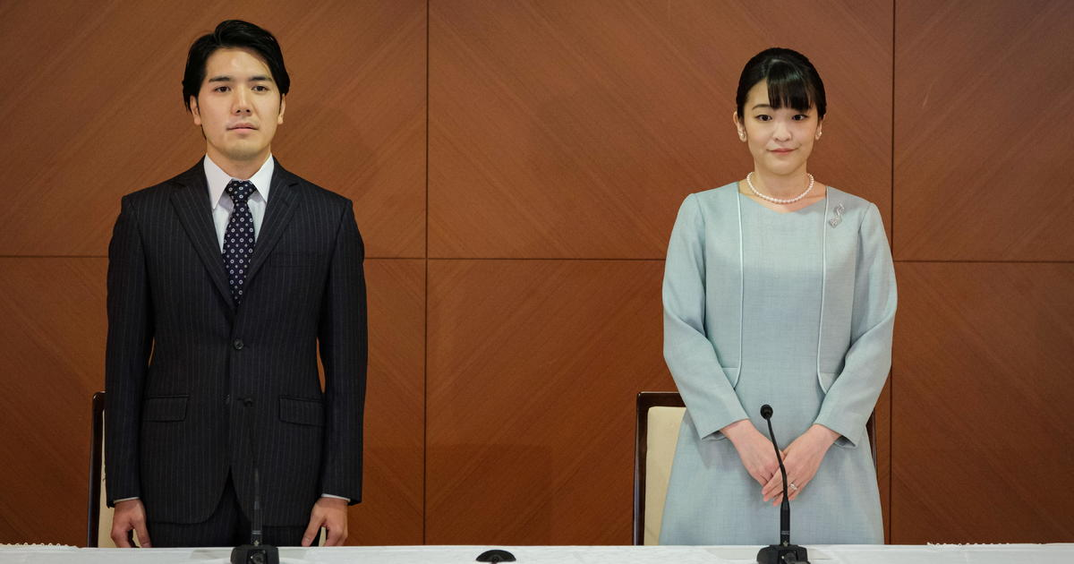 Japan's Princess Mako weds, then goes on TV to defend the marriage