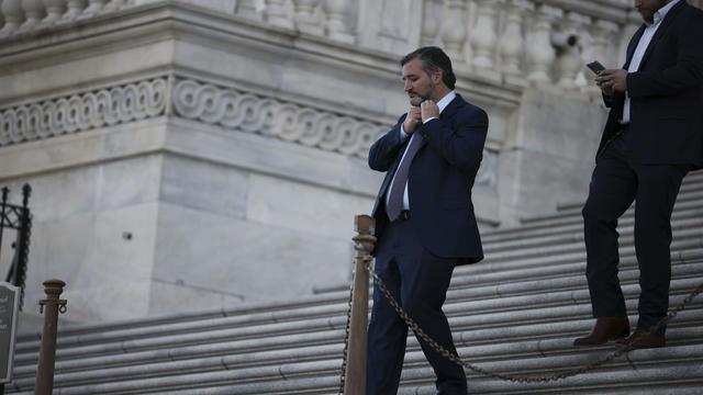 Senators Return To Capitol Hill